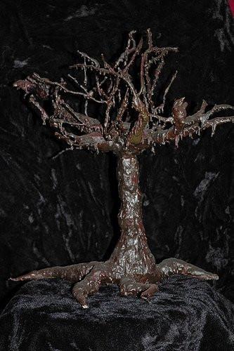 2008__Wire, wax, plaster gauze___ Part o