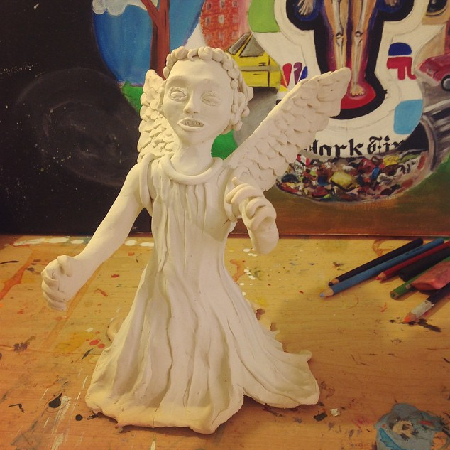 This lil guy is ready to get painted!  #