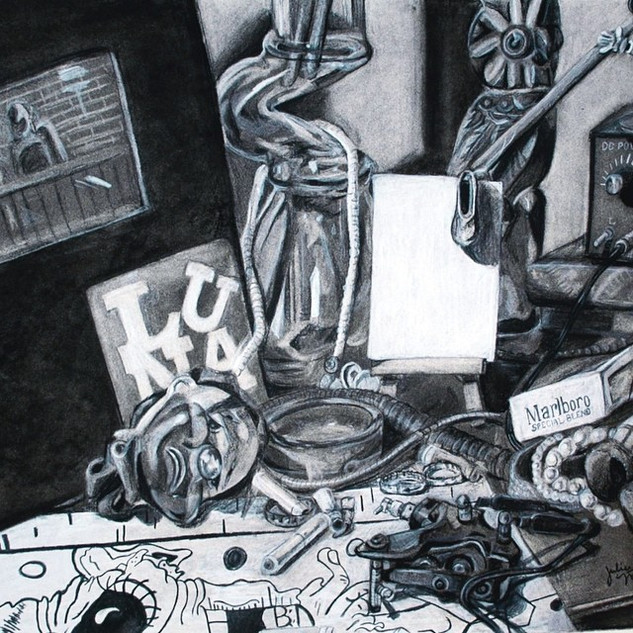 Vanitas Drawing Detail