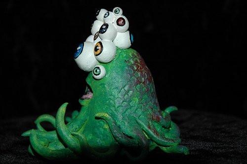 Gerald, 2009__Clay, acrylic paint.jpg