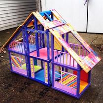 Doll House Paint Job