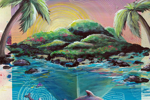 Big Island Flow Detail