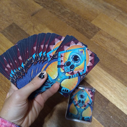 Her Strangeness Playing Cards
