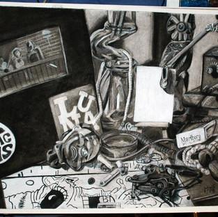 Vanitas Drawing 2012