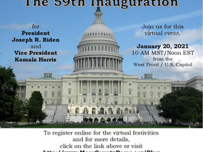 Join 59th Inaugural Ceremony