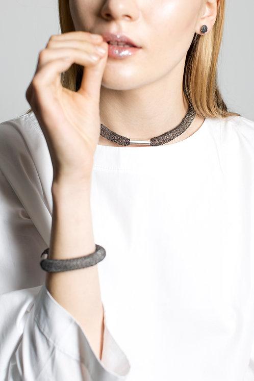 necklace n°1 oxidized