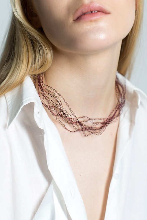 necklace S AMARANTUS / GREEN