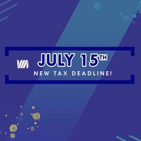 New 2020 Tax Deadline