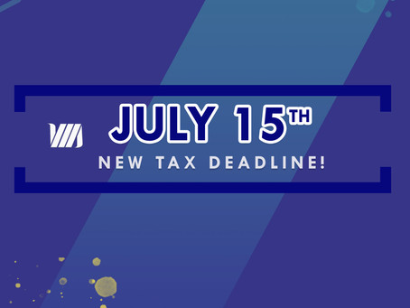 New 2020 Tax Deadline