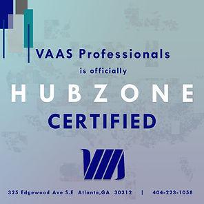 HubZone Certification Announcement