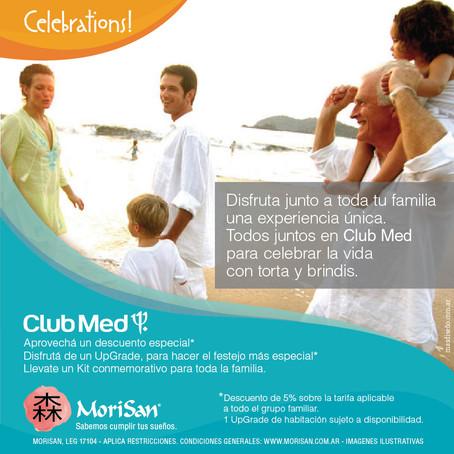 Club Med, donde siempre hay algo para festejar con la familia