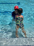 Emma, Swim Sequence, age 2