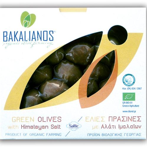 Ελιές πράσινες με αλάτι Ιμαλαίων