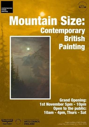 Mountain Size: Contemporary British Painting - Pineapple Black Gallery
