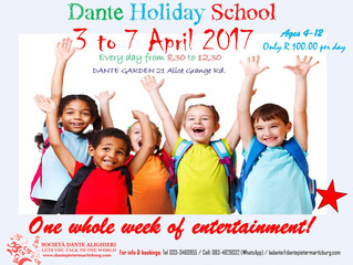 HOLIDAY FUN FOR KIDS 3 to 7 APRIL – A CULTURAL EXTRAVAGANZA!