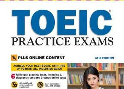 TOEIC Practice Exams - With Downloadable Audio (Paperback, Fourth Edition)