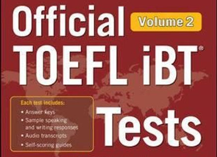 Official TOEFL iBT Tests Volume 2, Second Edition (Book, 2nd edition)