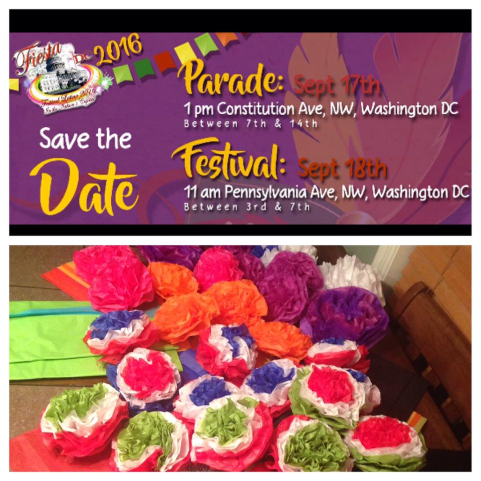 Fiesta Parade flyer