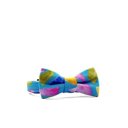 JEWELS WEEKEND BOY BOW PET COLLAR