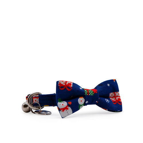 NOEL WEEKEND BOW CAT COLLAR