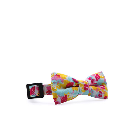 HAWAII FOLIAGE WEEKEND BOY BOW PET COLLAR