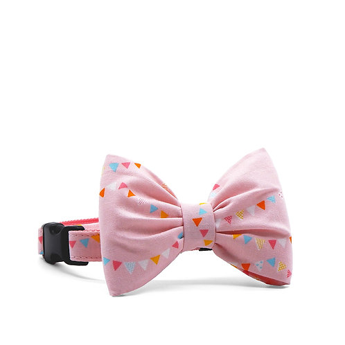 BABY BUNTINGS BOUFFANT BOW TIE DOG COLLAR
