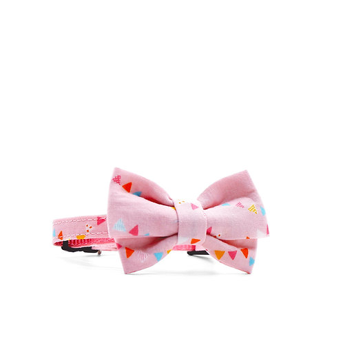 BABY BUNTINGS WEEKEND GIRL BOW TIE PET COLLAR