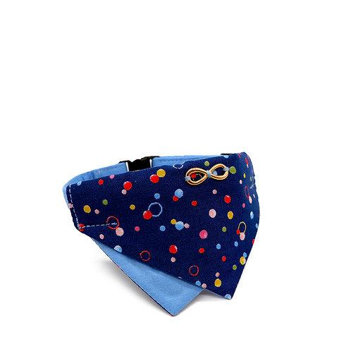 BUBCUZZI (BLUE) BANDANA COLLAR