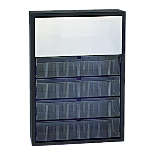 PL-TOC 4 Tray Cabinet with Upper Storage
