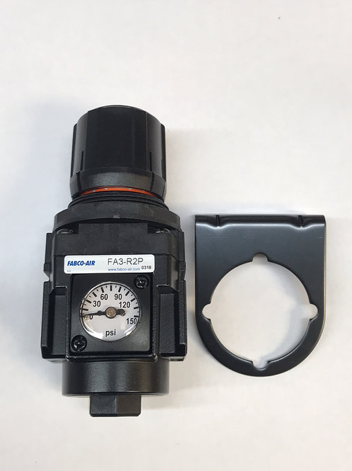 "Fabco-Air Regulator 1/4"" with Gauge"