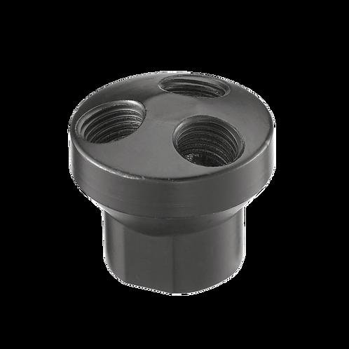 "1/4"" 3 Way Aluminum Manifold A15 201"