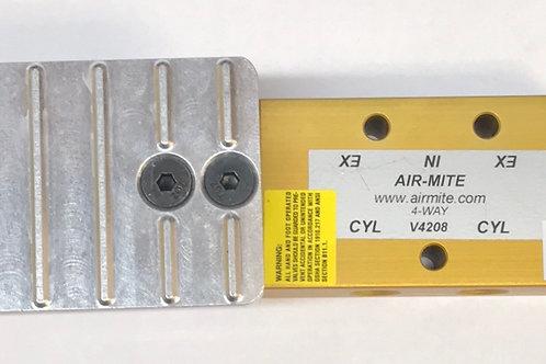 "Airmite Foot Pedal 1/4"", 3/8"", & 1/2"" NPT Ports"