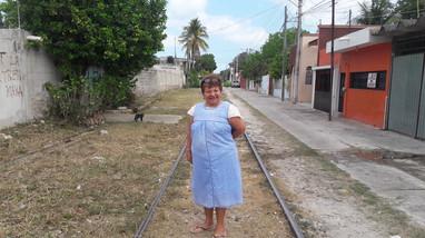 """¿Desplazamiento forzado en Campeche? """"Tren Maya, va porque va"""". Violeta R. Núñez Rodríguez"""