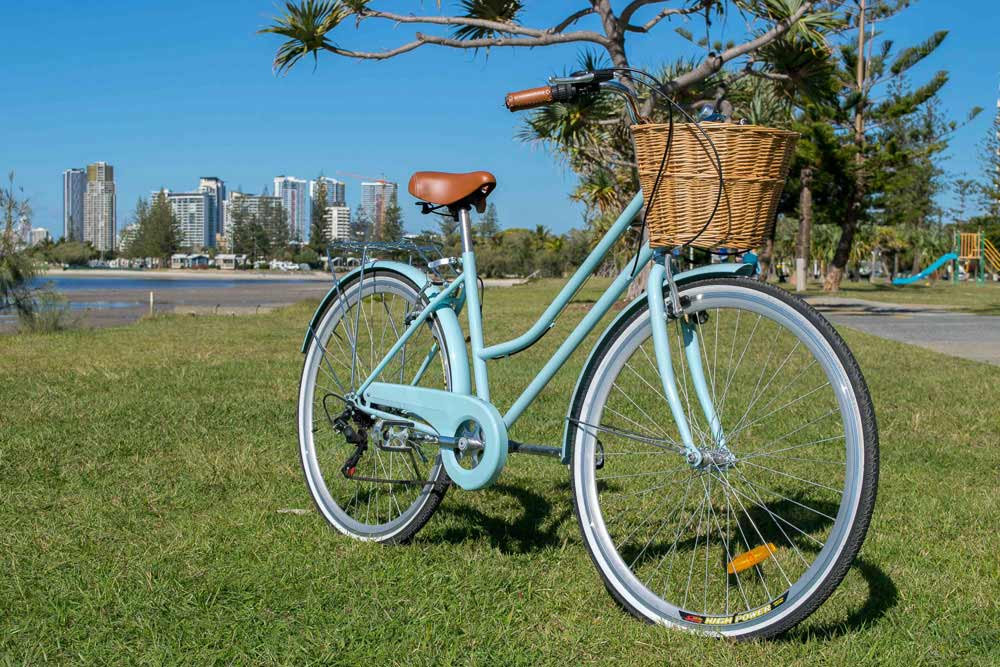 Blue Vintage Cruiser Gold Coast
