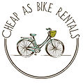 Cheap As Bike Rentals Logo