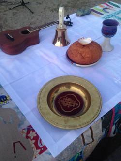 Easter Sunrise Service Communion