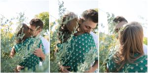 Un coupled'amoureux au parc Blandan
