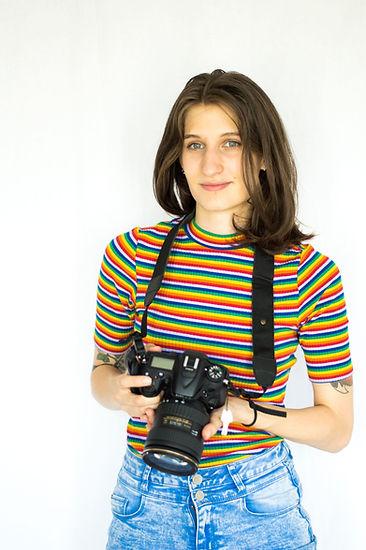 Cecile boens dame chrysantheme autoportrait de photographe
