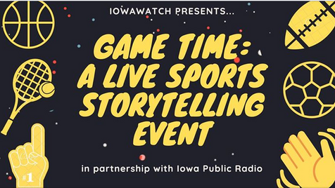Game Time:  A Live Sports Storytelling Event