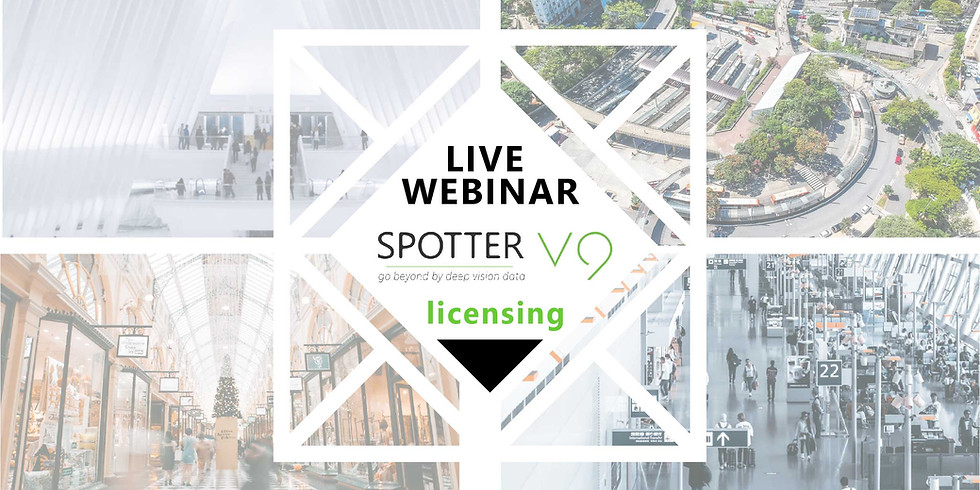 "Mirasys Webinar: ""Wie funktioniert das neue Spotter V9 Lizensierungsmodell?"""
