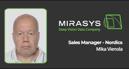 MIRASYS ANNOUNCES NEW SALES MANAGER FOR THE NORDICS REGION IN EUROPE