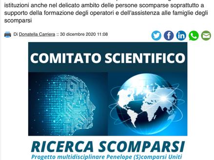 Intervista al Comitato Scientifico Ricerca Scomparsi