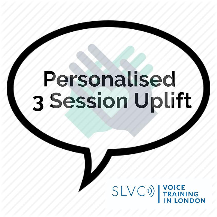 £350 - Personalised 3 Session Uplift