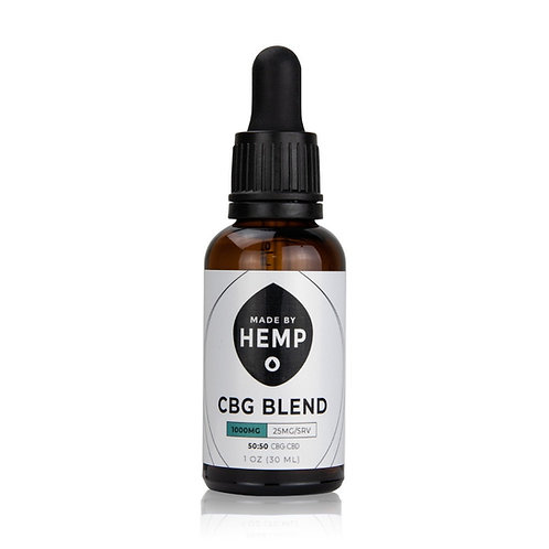 CBG/CBD OIL BLEND