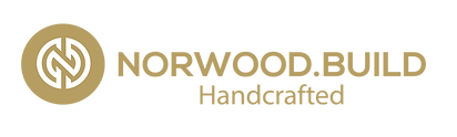 NORWODD-BUILD_Handcrafted_Logo_Gold_Hori