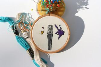Paintbrush Hoop