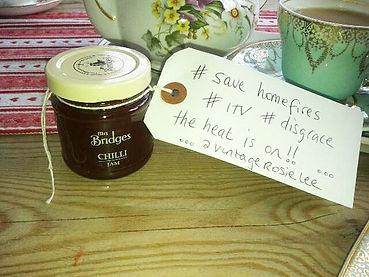 Jam sent to ITV by Rosie-Lee Vintage at The Regent