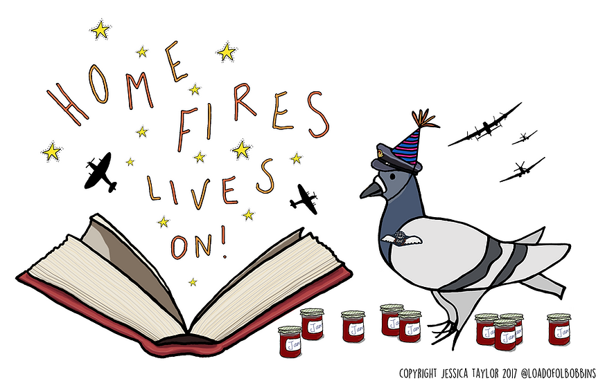 Home Fires lives on illustration
