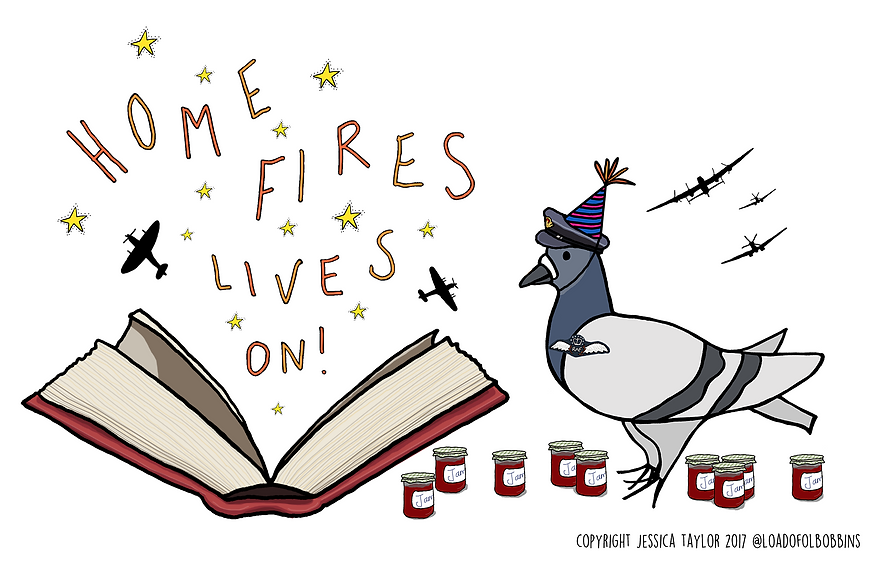 Home Fires lives on illustration