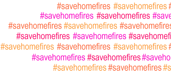 #savehomefires banner Copyright Jessica Taylor 2016